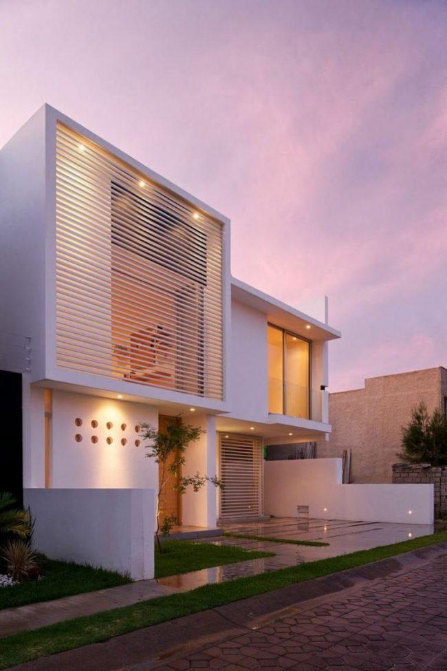 Arquitectura Fachadas De Casas Modernas Casas Modernas: Boletín Proyectos Constructivos Loaiza